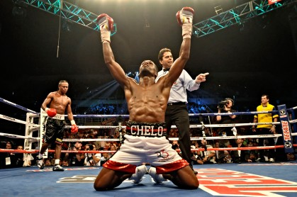 Jose Chelo Gonzales gets a dramatic win overHevison Herrera